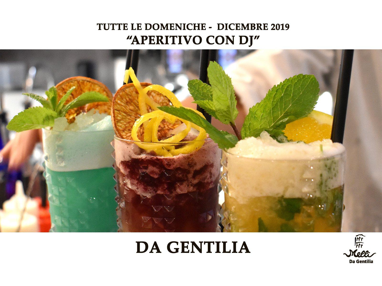 Aperitivo con dj – Da Gentilia