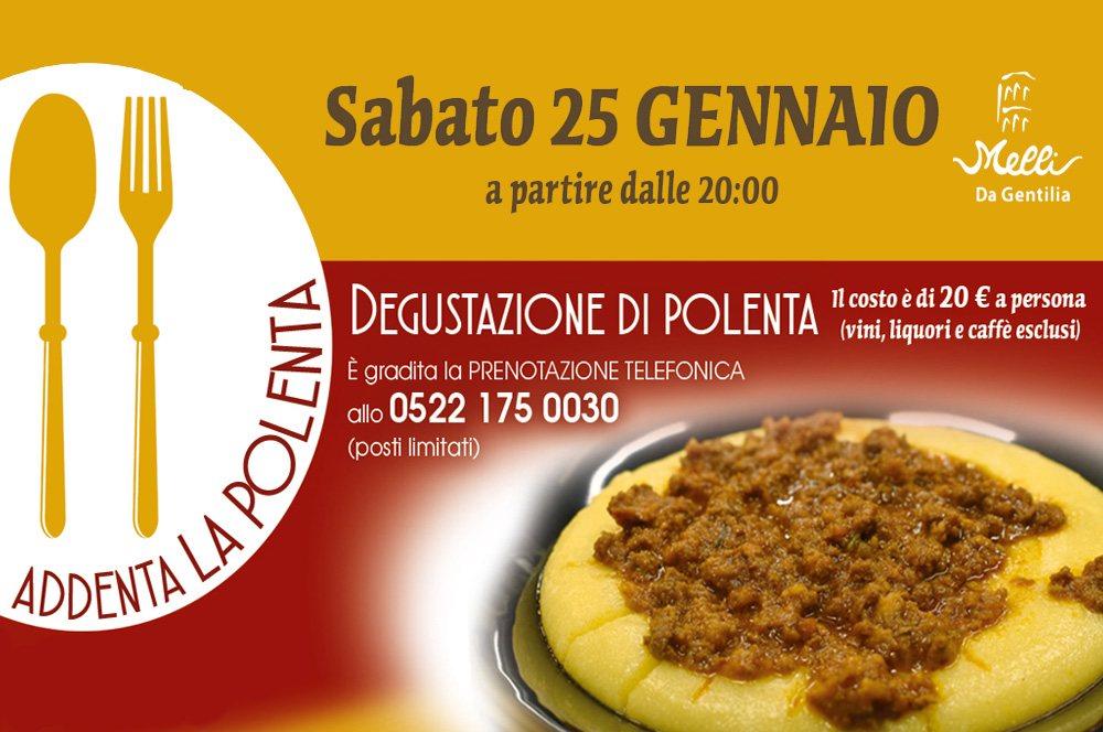 Addenta la polenta – Da Gentilia